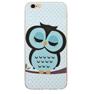 Zachte Baby Owl Telefoonhoesje