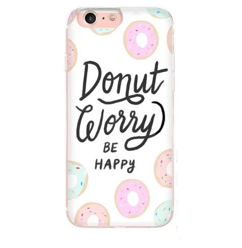 TPU Design Donut hoesje
