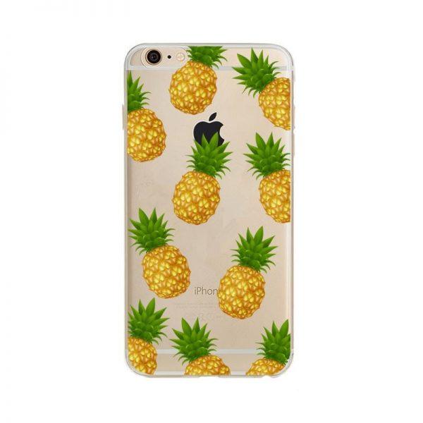 transparant ananas telefoonhoesje