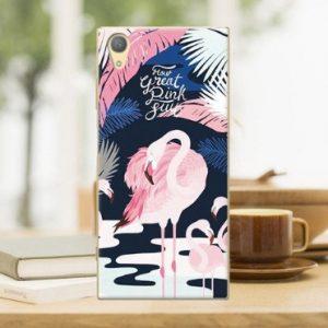 pink flamingo telefoonhoesje