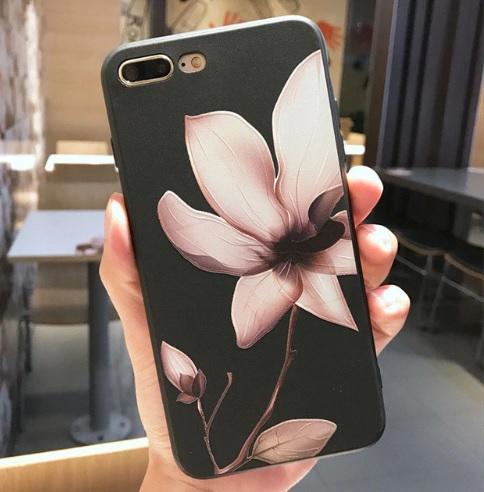 lotus bloem telefoonhoesje