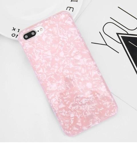 roze glitter telefoonhoesje