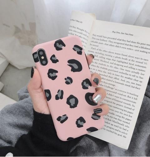 roze luipaard hoesje
