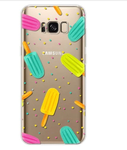 gekleurde ijsjes telefoonhoesje