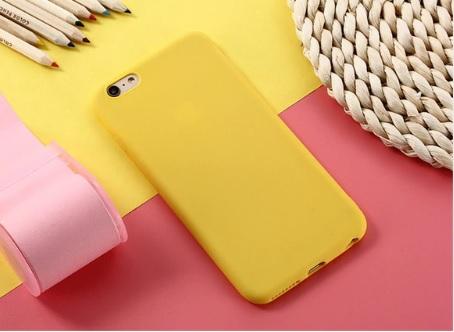 geel telefoonhoesje