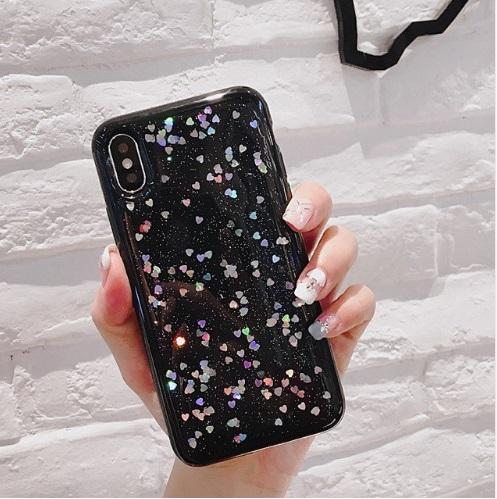 glitter love telefoonhoesje