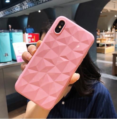 roze diamant telefoonhoesje