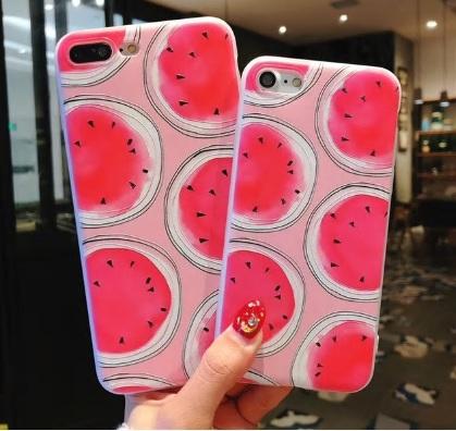 zomers watermeloen telefoonhoesje