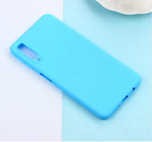 lichtblauw telefoonhoesje