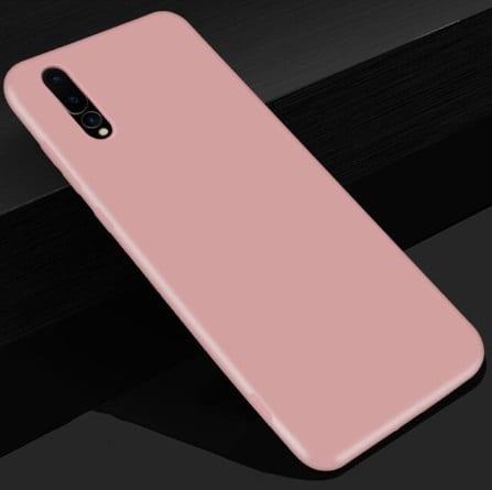 soft roze telefoonhoesje