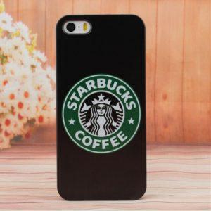 zwart koffie telefoonhoesje