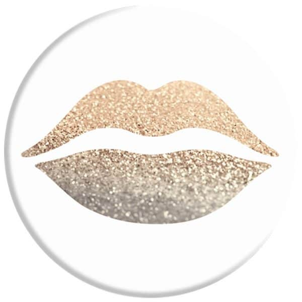 PopSocket Gold Kiss