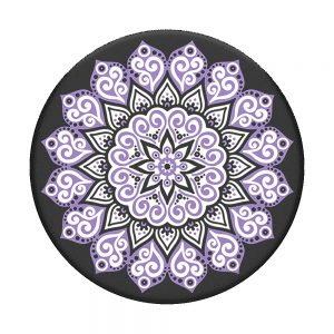 PopSocket Peace Mandala Purple