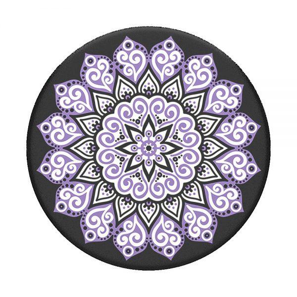 PopSocket Peace Mandala Purple