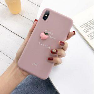 peach telefoonhoesjes