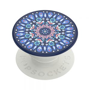 PopSocket Butterfly Mandala Blue